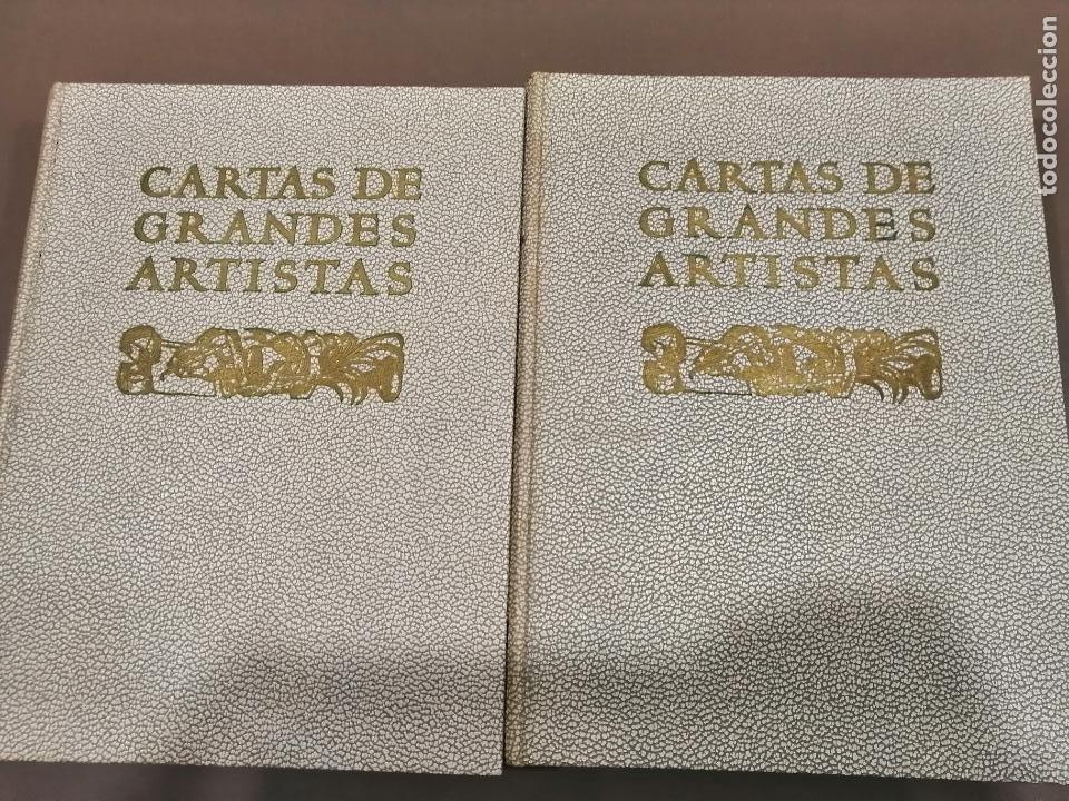 CARTAS DE GRANDES ARTISTAS. TOMO I DEGHIBERTI A VELÁSQUEZ Y II DE BLAKE A PICASSO. 1967 (Libros Antiguos, Raros y Curiosos - Bellas artes, ocio y coleccion - Pintura)