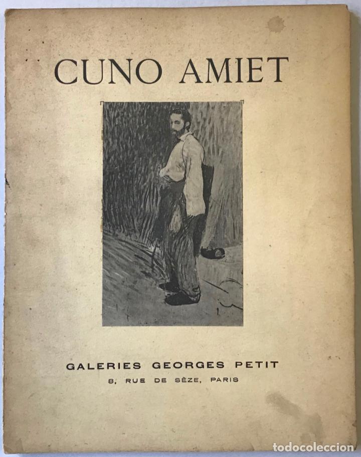 EXPOSITION CUNO AMIET. OUVERTE DU IER AU 18 MARS 1932. - [CATÁLOGO.] (Libros Antiguos, Raros y Curiosos - Bellas artes, ocio y coleccion - Pintura)