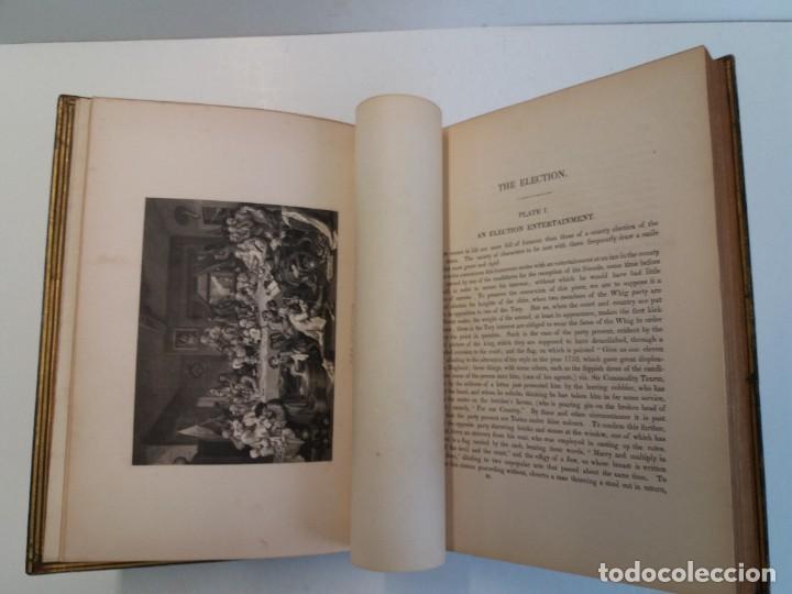 Libros antiguos: 2 FABULOSOS LIBROS LOS TRABAJOS DE WILLIAM HOGARTH MARAVILLOSA ENCUADERNACION GRABADOS 190 AÑOS - Foto 14 - 230632690