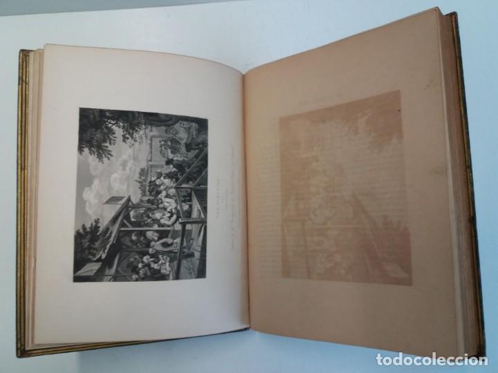 Libros antiguos: 2 FABULOSOS LIBROS LOS TRABAJOS DE WILLIAM HOGARTH MARAVILLOSA ENCUADERNACION GRABADOS 190 AÑOS - Foto 18 - 230632690