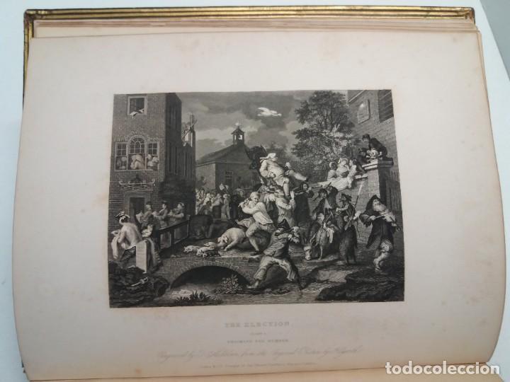 Libros antiguos: 2 FABULOSOS LIBROS LOS TRABAJOS DE WILLIAM HOGARTH MARAVILLOSA ENCUADERNACION GRABADOS 190 AÑOS - Foto 19 - 230632690