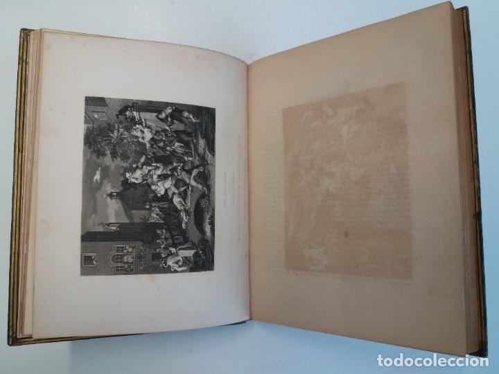 Libros antiguos: 2 FABULOSOS LIBROS LOS TRABAJOS DE WILLIAM HOGARTH MARAVILLOSA ENCUADERNACION GRABADOS 190 AÑOS - Foto 20 - 230632690
