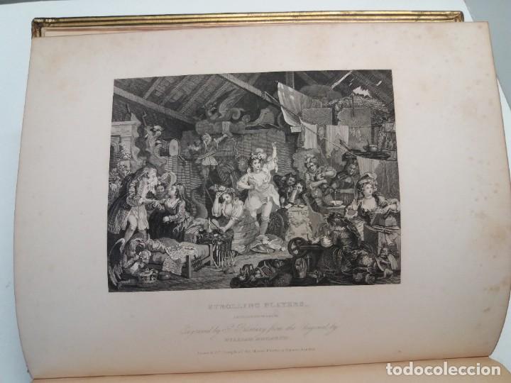 Libros antiguos: 2 FABULOSOS LIBROS LOS TRABAJOS DE WILLIAM HOGARTH MARAVILLOSA ENCUADERNACION GRABADOS 190 AÑOS - Foto 21 - 230632690