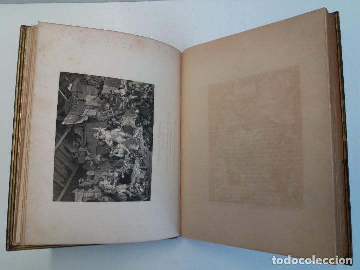 Libros antiguos: 2 FABULOSOS LIBROS LOS TRABAJOS DE WILLIAM HOGARTH MARAVILLOSA ENCUADERNACION GRABADOS 190 AÑOS - Foto 22 - 230632690