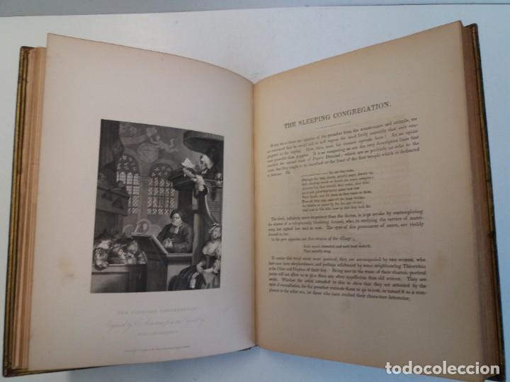 Libros antiguos: 2 FABULOSOS LIBROS LOS TRABAJOS DE WILLIAM HOGARTH MARAVILLOSA ENCUADERNACION GRABADOS 190 AÑOS - Foto 27 - 230632690