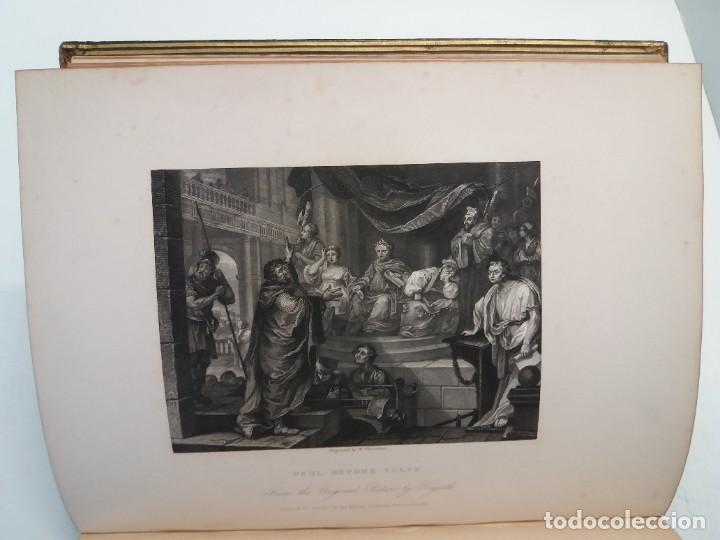 Libros antiguos: 2 FABULOSOS LIBROS LOS TRABAJOS DE WILLIAM HOGARTH MARAVILLOSA ENCUADERNACION GRABADOS 190 AÑOS - Foto 30 - 230632690