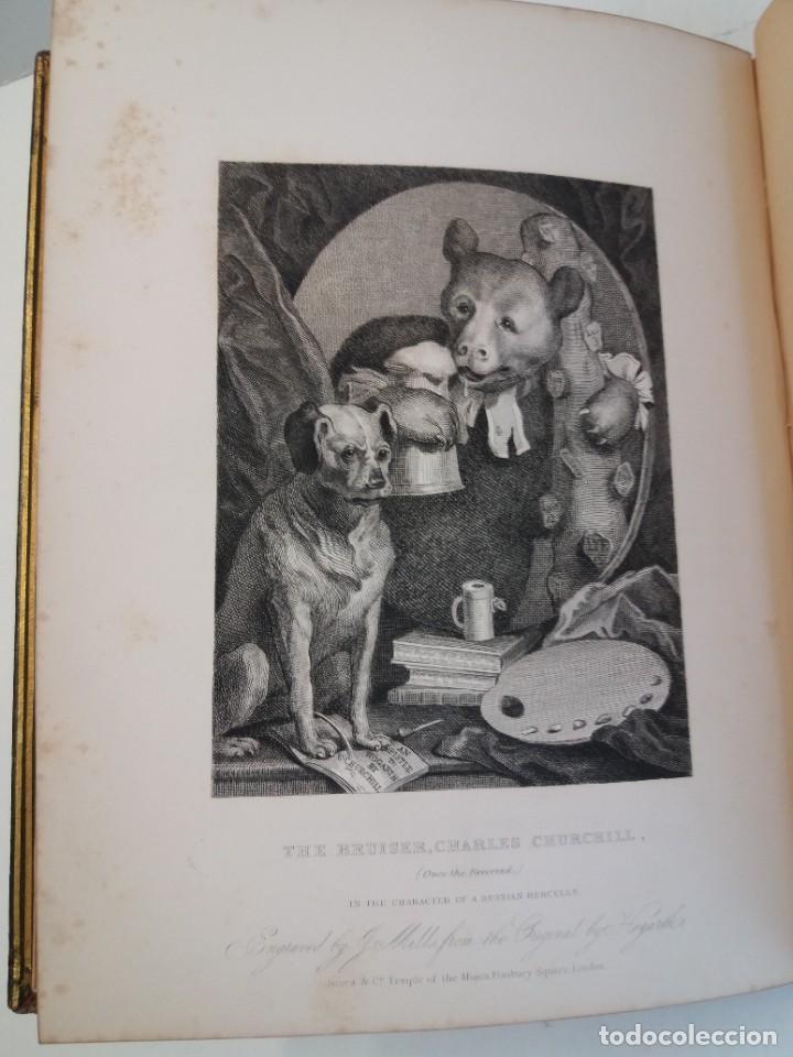 Libros antiguos: 2 FABULOSOS LIBROS LOS TRABAJOS DE WILLIAM HOGARTH MARAVILLOSA ENCUADERNACION GRABADOS 190 AÑOS - Foto 32 - 230632690