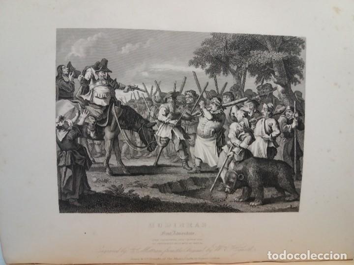 Libros antiguos: 2 FABULOSOS LIBROS LOS TRABAJOS DE WILLIAM HOGARTH MARAVILLOSA ENCUADERNACION GRABADOS 190 AÑOS - Foto 39 - 230632690