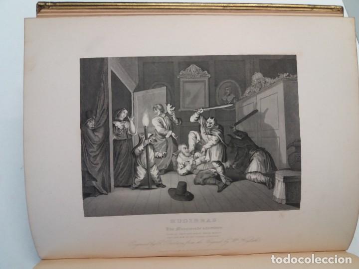Libros antiguos: 2 FABULOSOS LIBROS LOS TRABAJOS DE WILLIAM HOGARTH MARAVILLOSA ENCUADERNACION GRABADOS 190 AÑOS - Foto 41 - 230632690