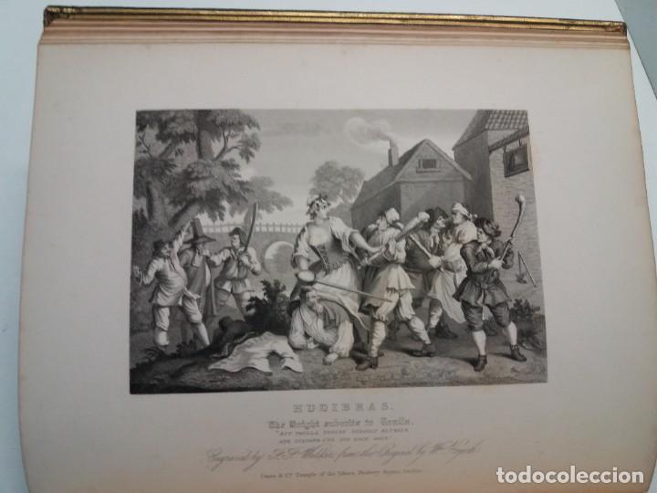 Libros antiguos: 2 FABULOSOS LIBROS LOS TRABAJOS DE WILLIAM HOGARTH MARAVILLOSA ENCUADERNACION GRABADOS 190 AÑOS - Foto 42 - 230632690