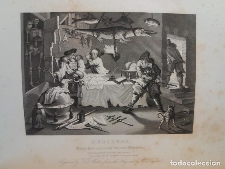 Libros antiguos: 2 FABULOSOS LIBROS LOS TRABAJOS DE WILLIAM HOGARTH MARAVILLOSA ENCUADERNACION GRABADOS 190 AÑOS - Foto 45 - 230632690