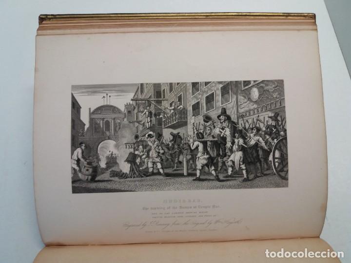 Libros antiguos: 2 FABULOSOS LIBROS LOS TRABAJOS DE WILLIAM HOGARTH MARAVILLOSA ENCUADERNACION GRABADOS 190 AÑOS - Foto 47 - 230632690