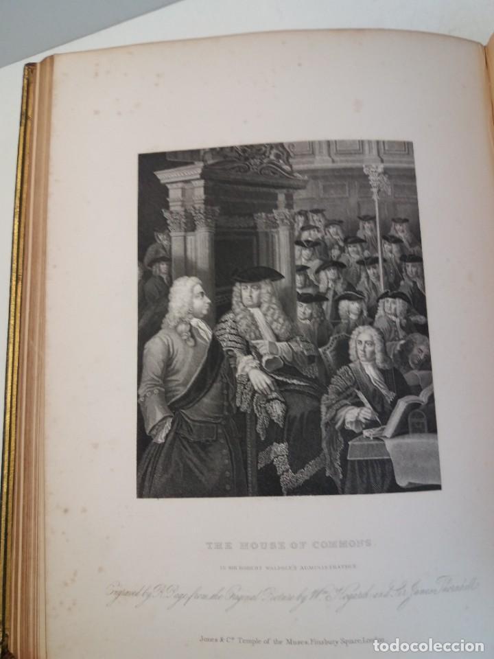 Libros antiguos: 2 FABULOSOS LIBROS LOS TRABAJOS DE WILLIAM HOGARTH MARAVILLOSA ENCUADERNACION GRABADOS 190 AÑOS - Foto 50 - 230632690