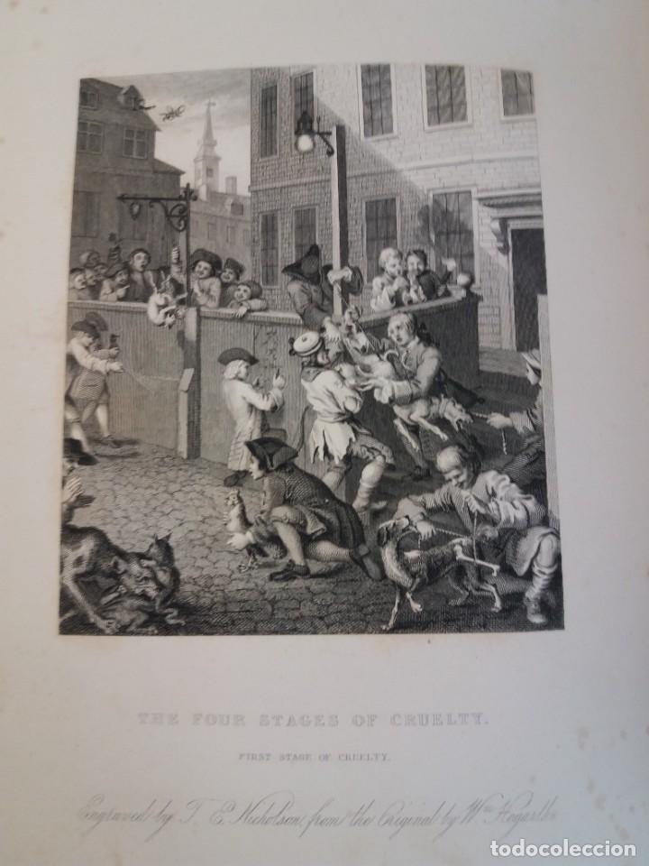 Libros antiguos: 2 FABULOSOS LIBROS LOS TRABAJOS DE WILLIAM HOGARTH MARAVILLOSA ENCUADERNACION GRABADOS 190 AÑOS - Foto 58 - 230632690