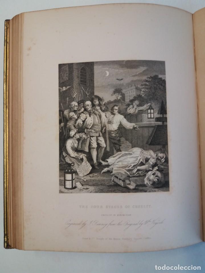 Libros antiguos: 2 FABULOSOS LIBROS LOS TRABAJOS DE WILLIAM HOGARTH MARAVILLOSA ENCUADERNACION GRABADOS 190 AÑOS - Foto 61 - 230632690