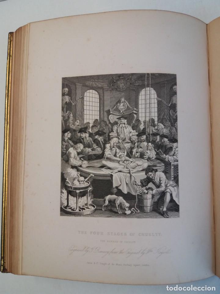 Libros antiguos: 2 FABULOSOS LIBROS LOS TRABAJOS DE WILLIAM HOGARTH MARAVILLOSA ENCUADERNACION GRABADOS 190 AÑOS - Foto 62 - 230632690