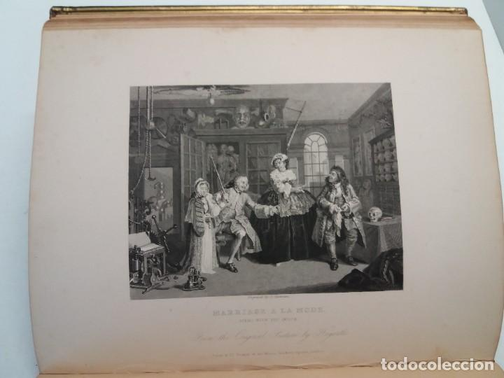 Libros antiguos: 2 FABULOSOS LIBROS LOS TRABAJOS DE WILLIAM HOGARTH MARAVILLOSA ENCUADERNACION GRABADOS 190 AÑOS - Foto 65 - 230632690