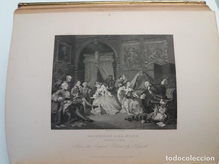 Libros antiguos: 2 FABULOSOS LIBROS LOS TRABAJOS DE WILLIAM HOGARTH MARAVILLOSA ENCUADERNACION GRABADOS 190 AÑOS - Foto 66 - 230632690