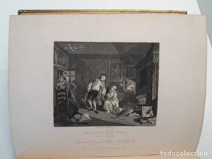 Libros antiguos: 2 FABULOSOS LIBROS LOS TRABAJOS DE WILLIAM HOGARTH MARAVILLOSA ENCUADERNACION GRABADOS 190 AÑOS - Foto 67 - 230632690
