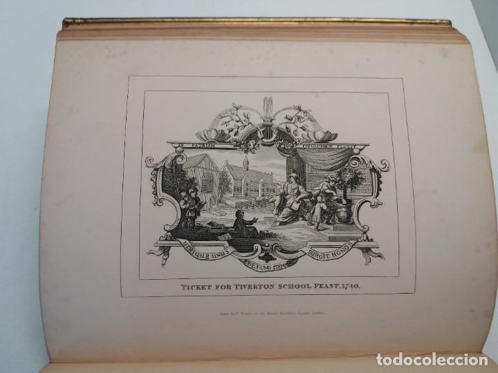 Libros antiguos: 2 FABULOSOS LIBROS LOS TRABAJOS DE WILLIAM HOGARTH MARAVILLOSA ENCUADERNACION GRABADOS 190 AÑOS - Foto 76 - 230632690