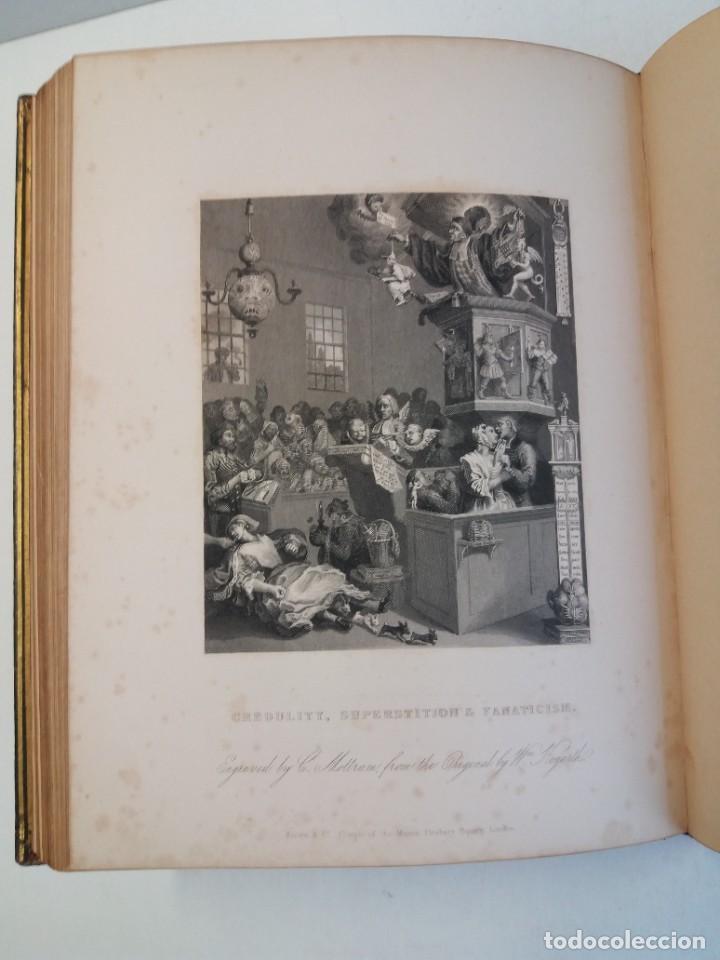 Libros antiguos: 2 FABULOSOS LIBROS LOS TRABAJOS DE WILLIAM HOGARTH MARAVILLOSA ENCUADERNACION GRABADOS 190 AÑOS - Foto 79 - 230632690