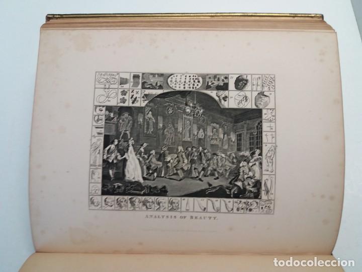 Libros antiguos: 2 FABULOSOS LIBROS LOS TRABAJOS DE WILLIAM HOGARTH MARAVILLOSA ENCUADERNACION GRABADOS 190 AÑOS - Foto 81 - 230632690