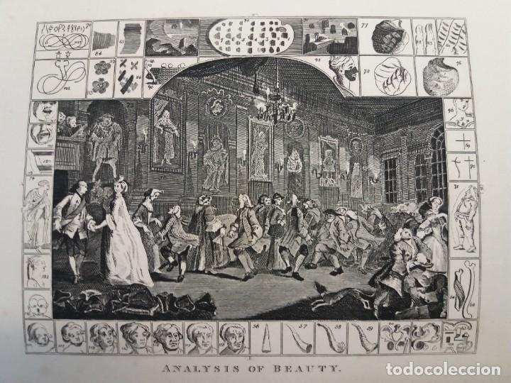 Libros antiguos: 2 FABULOSOS LIBROS LOS TRABAJOS DE WILLIAM HOGARTH MARAVILLOSA ENCUADERNACION GRABADOS 190 AÑOS - Foto 82 - 230632690