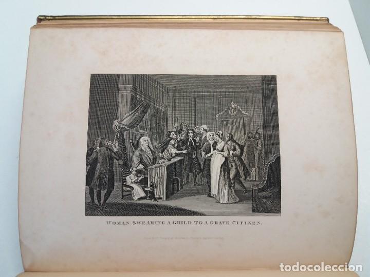 Libros antiguos: 2 FABULOSOS LIBROS LOS TRABAJOS DE WILLIAM HOGARTH MARAVILLOSA ENCUADERNACION GRABADOS 190 AÑOS - Foto 83 - 230632690
