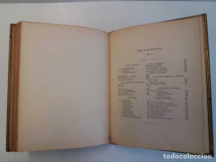 Libros antiguos: 2 FABULOSOS LIBROS LOS TRABAJOS DE WILLIAM HOGARTH MARAVILLOSA ENCUADERNACION GRABADOS 190 AÑOS - Foto 87 - 230632690