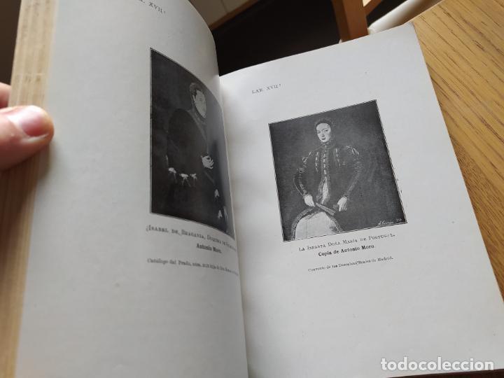 Libros antiguos: Retratos del museo del Prado, Junta de iconografia nacional, Imp. Cosano, 1919 - Foto 8 - 231125180