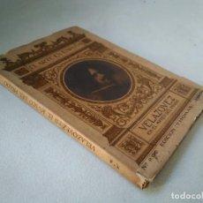 Libros antiguos: EL ARTE EN ESPAÑA. VELÁZQUEZ EN EL MUSEO DEL PRADO. Lote 233495375