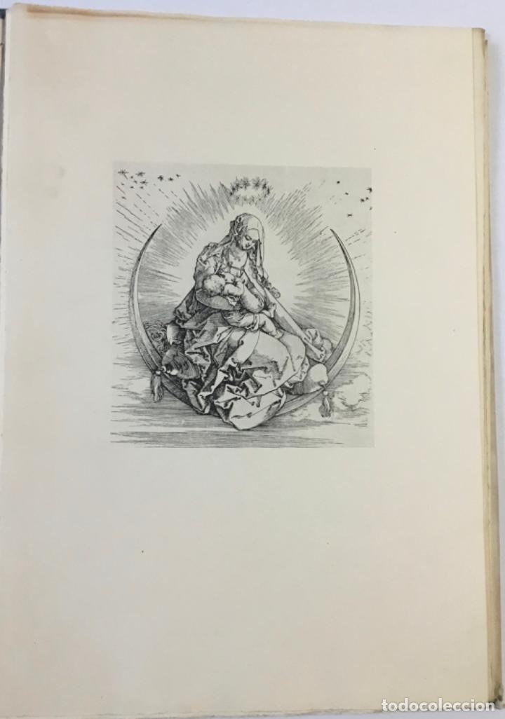 Libros antiguos: DURERO. VIDA DE LA VIRGEN. 0 lám. con grabados de Durero. Edición numerada. - Foto 4 - 233550255