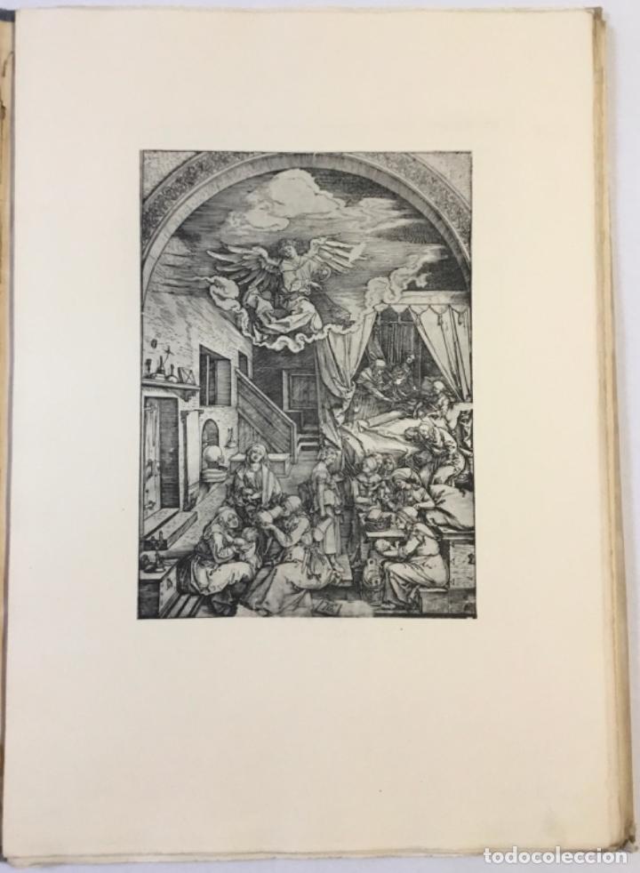 Libros antiguos: DURERO. VIDA DE LA VIRGEN. 0 lám. con grabados de Durero. Edición numerada. - Foto 5 - 233550255