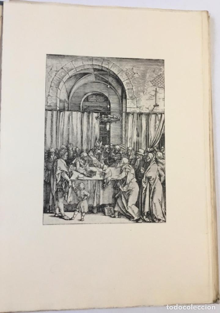 Libros antiguos: DURERO. VIDA DE LA VIRGEN. 0 lám. con grabados de Durero. Edición numerada. - Foto 6 - 233550255