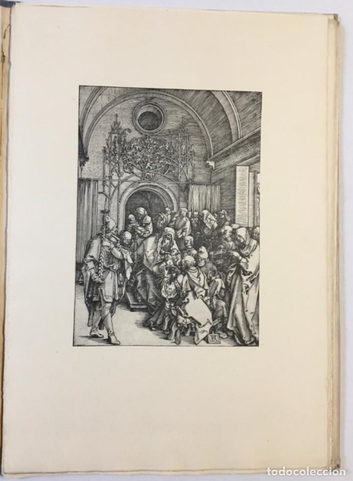 Libros antiguos: DURERO. VIDA DE LA VIRGEN. 0 lám. con grabados de Durero. Edición numerada. - Foto 7 - 233550255
