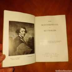 Libros antiguos: THE MASTERPIECES OF REYNOLDS GOWANS AND GRAY 1906 LIBRO ARTE. Lote 234575820