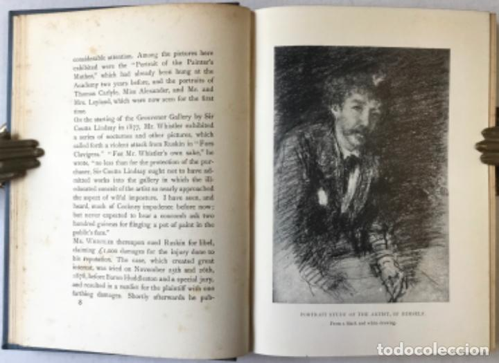 Libros antiguos: THE ART OF JAMES MCNEILL WHISTLER. AN APPRECIATION BY... - WAY, T. R.;DENNIS, G. R. - Foto 3 - 235880225