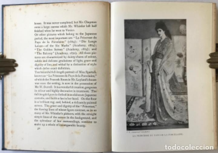 Libros antiguos: THE ART OF JAMES MCNEILL WHISTLER. AN APPRECIATION BY... - WAY, T. R.;DENNIS, G. R. - Foto 4 - 235880225