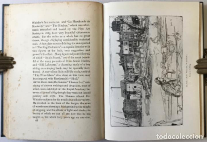 Libros antiguos: THE ART OF JAMES MCNEILL WHISTLER. AN APPRECIATION BY... - WAY, T. R.;DENNIS, G. R. - Foto 6 - 235880225