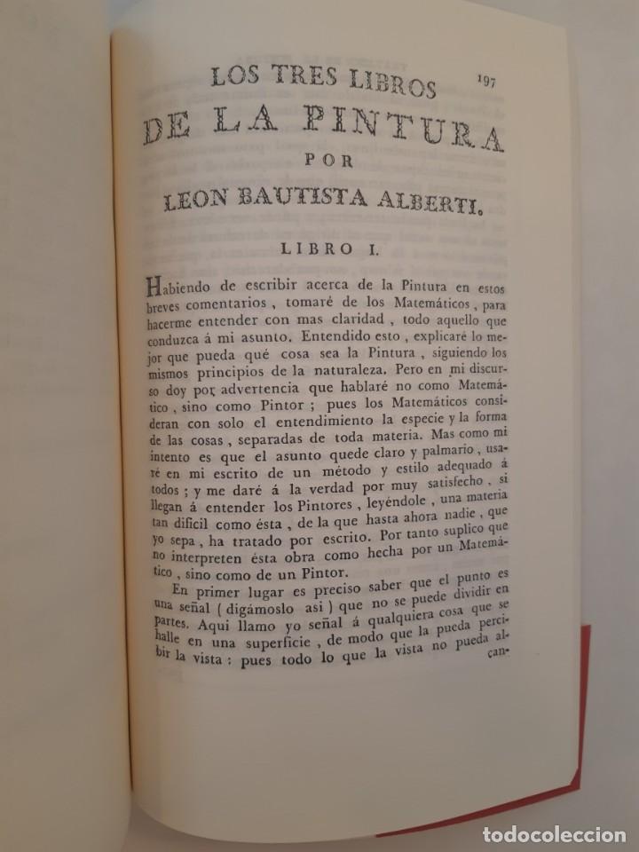 Libros antiguos: Precioso facsímil de la 1ª ed. en español del Tratado de la Pintura, de Leonardo da Vinci (1784) - Foto 4 - 250272505