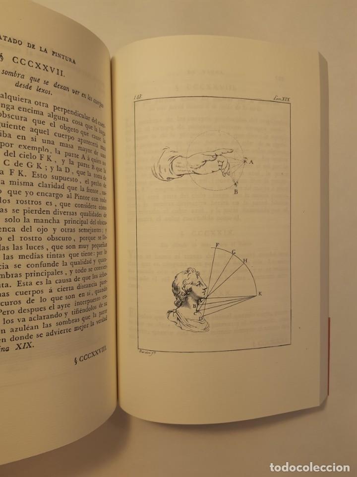 Libros antiguos: Precioso facsímil de la 1ª ed. en español del Tratado de la Pintura, de Leonardo da Vinci (1784) - Foto 5 - 250272505