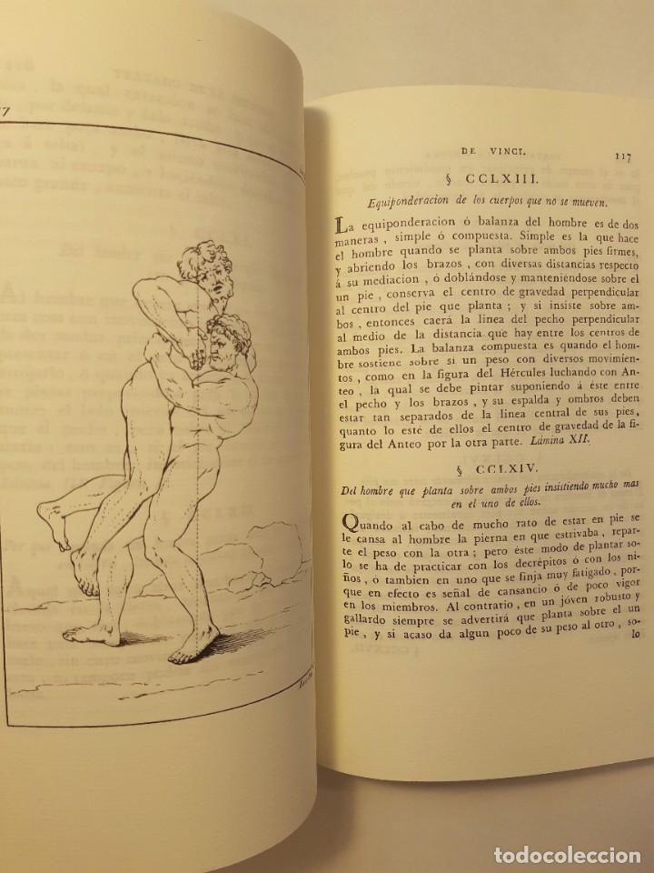 Libros antiguos: Precioso facsímil de la 1ª ed. en español del Tratado de la Pintura, de Leonardo da Vinci (1784) - Foto 7 - 250272505