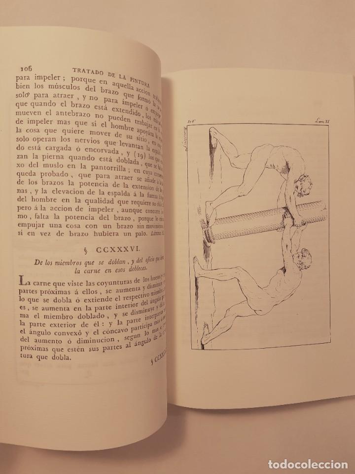 Libros antiguos: Precioso facsímil de la 1ª ed. en español del Tratado de la Pintura, de Leonardo da Vinci (1784) - Foto 8 - 250272505
