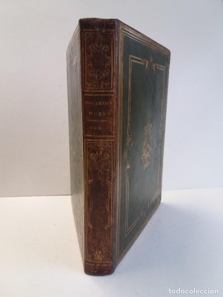 Libros antiguos: 2 FABULOSOS LIBROS LOS TRABAJOS DE WILLIAM HOGARTH MARAVILLOSA ENCUADERNACION GRABADOS 190 AÑOS - Foto 90 - 230632690