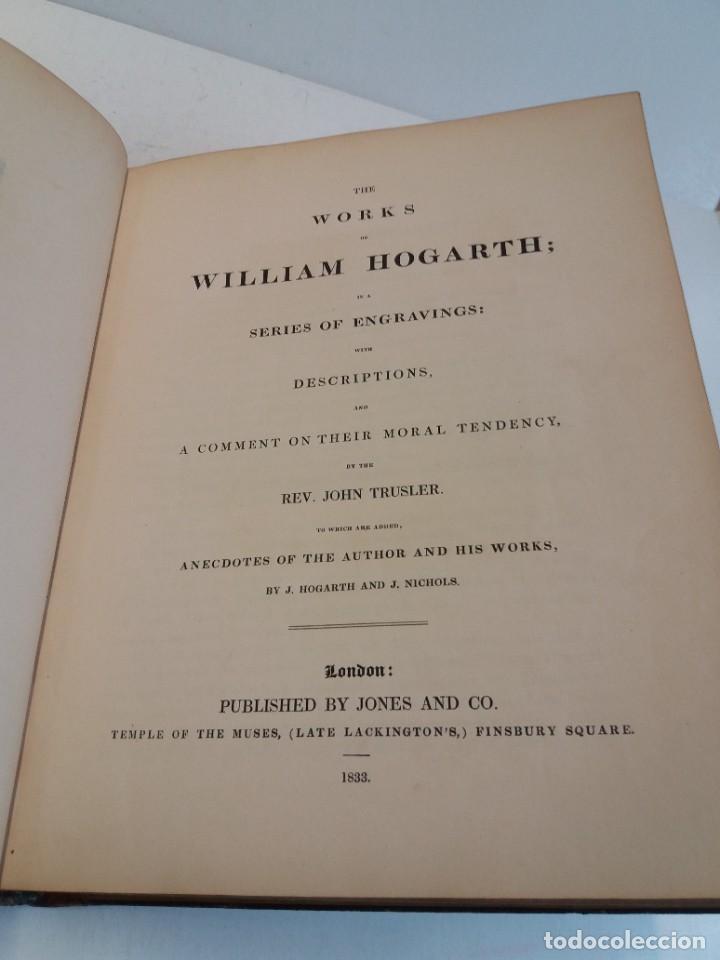 Libros antiguos: 2 FABULOSOS LIBROS LOS TRABAJOS DE WILLIAM HOGARTH MARAVILLOSA ENCUADERNACION GRABADOS 190 AÑOS - Foto 98 - 230632690