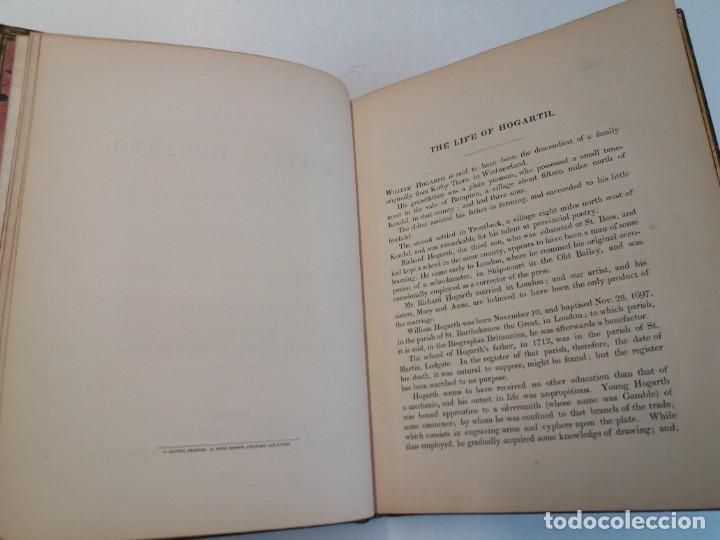Libros antiguos: 2 FABULOSOS LIBROS LOS TRABAJOS DE WILLIAM HOGARTH MARAVILLOSA ENCUADERNACION GRABADOS 190 AÑOS - Foto 99 - 230632690
