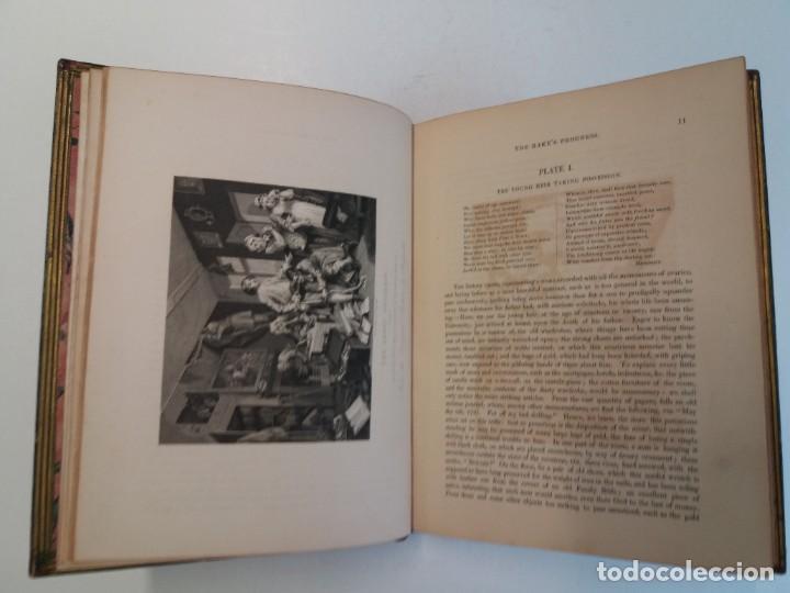 Libros antiguos: 2 FABULOSOS LIBROS LOS TRABAJOS DE WILLIAM HOGARTH MARAVILLOSA ENCUADERNACION GRABADOS 190 AÑOS - Foto 101 - 230632690