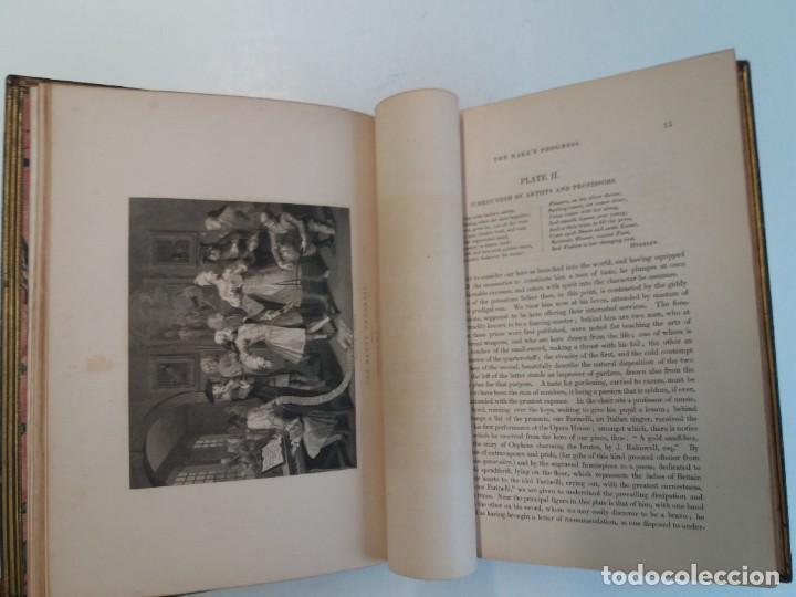 Libros antiguos: 2 FABULOSOS LIBROS LOS TRABAJOS DE WILLIAM HOGARTH MARAVILLOSA ENCUADERNACION GRABADOS 190 AÑOS - Foto 103 - 230632690