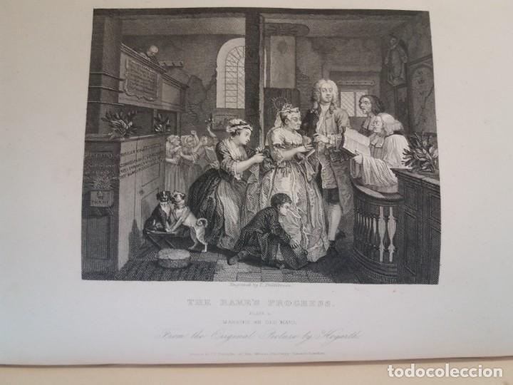 Libros antiguos: 2 FABULOSOS LIBROS LOS TRABAJOS DE WILLIAM HOGARTH MARAVILLOSA ENCUADERNACION GRABADOS 190 AÑOS - Foto 106 - 230632690