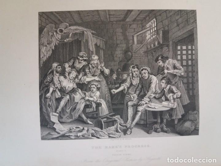 Libros antiguos: 2 FABULOSOS LIBROS LOS TRABAJOS DE WILLIAM HOGARTH MARAVILLOSA ENCUADERNACION GRABADOS 190 AÑOS - Foto 108 - 230632690